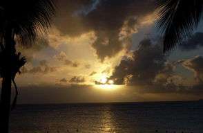 Barbados Sunset- Photograph by Dena Ventrudo