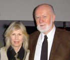 Merryn Jose and Dr. Bill Tiller