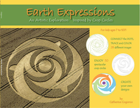 Earth Expressions: An Artistic Exploration Inspired by Crop Circles By Catherine Cogorno