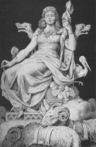 Goddess Frigga