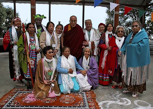 13 Grandmothers With The Dalai Lama