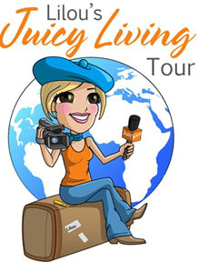 Juicy Living Tour Logo
