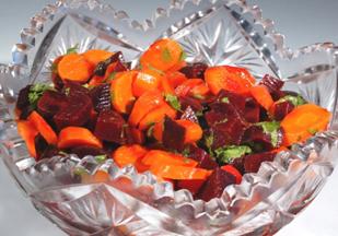 Moroccan Carrot & Beet Salad