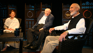 Conversation with Maata Lynn Barron, Rabbi Jonathan Omer-Man and Brother David Steindl-Rast