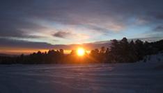 Rocky Mountains, CO Sunrise photograph by Dena Ventrudo